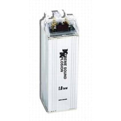 1F Kondensator mit Schutzschaltung inkl. Holzkiste CHP