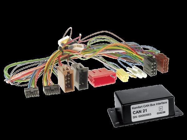 Audi CAN-BUS Adapter für Fahrzeuge mit Multifunktionslenkrad auf Variocom + Radio
