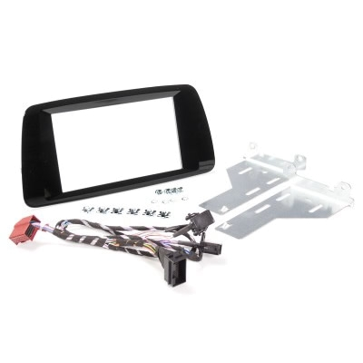 Radioblende SEAT Ibiza ab 2014 2DIN pioano black Installer Kit