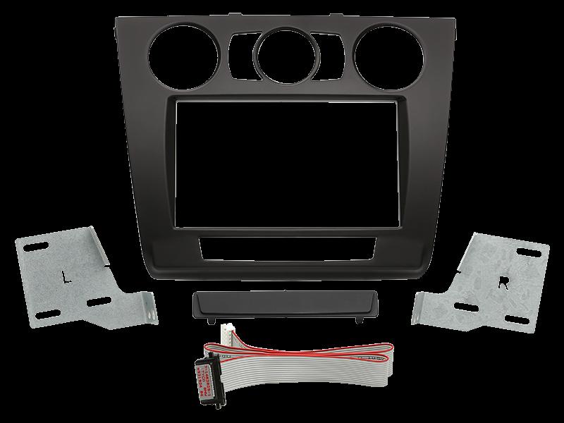 ACV 2-DIN RB BMW 1er manuelle Klimaanlage schwarz