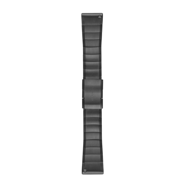 Quickfit Armband 26mm Schiefergrau, Edelstahl