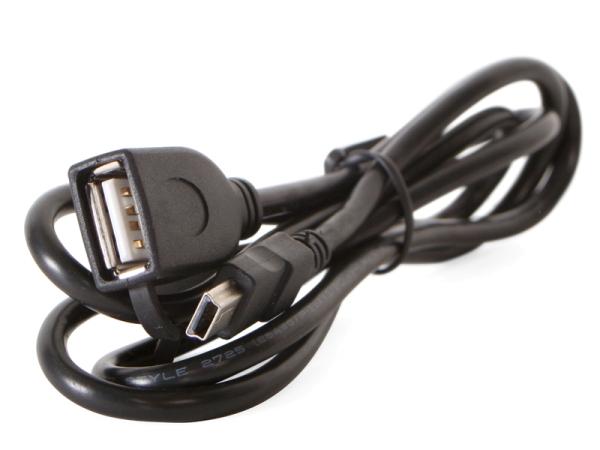 MINIUSB Stecker auf USB Buchse
