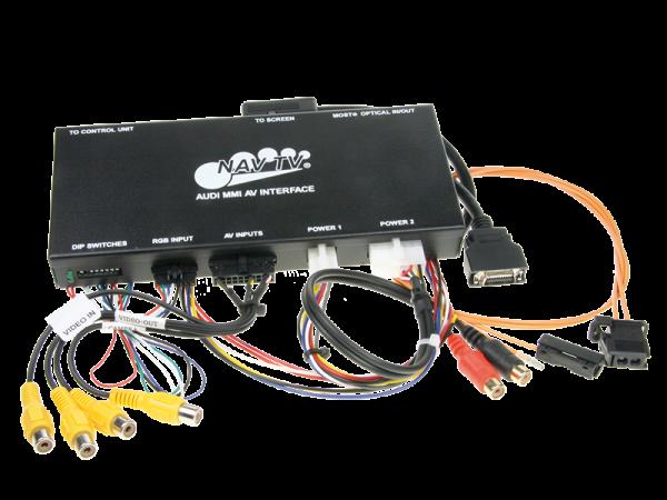 AV-Eingang für Audi A6, A8 und Q7 MMI System ohne TV-Tuner