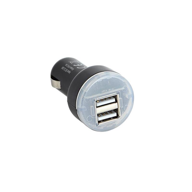 USB KFZ Ladeadapter 12V/24V 1x 2,1A / 2x 1A