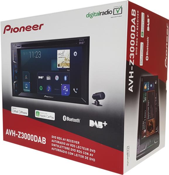 AVH-Z3000DAB inkl. DAB Antenne inkl. Kamera ND-BC8
