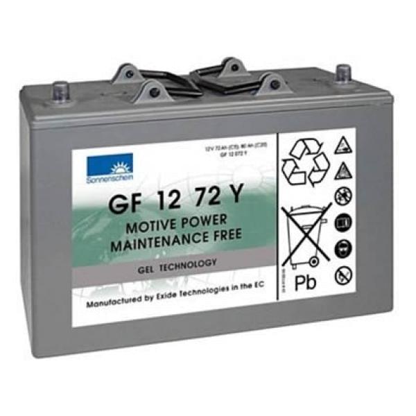Sonnenschein dryfit A 500 Cyclic Serie / Gel Antriebsbatterie GF 12 072 Y