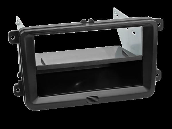 2-DIN Radiohalterung mit Ablagefach Seat Skoda VW