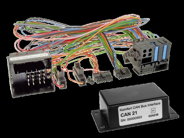 BMW CAN-BUS Adapter für Fahrzeuge mit Multifunktionslenkrad auf Variocom VC04