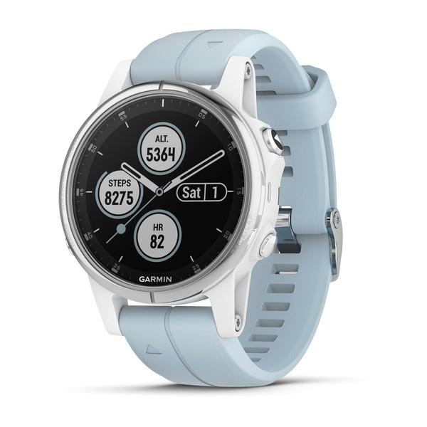 Fenix 5S Plus Weiß mit Seafoam Armband