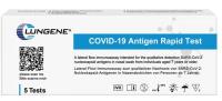 5er Pack Antigen-Schnelltest CLUNGENE SARS-CoV-2 Antigen mit Laienzulassung