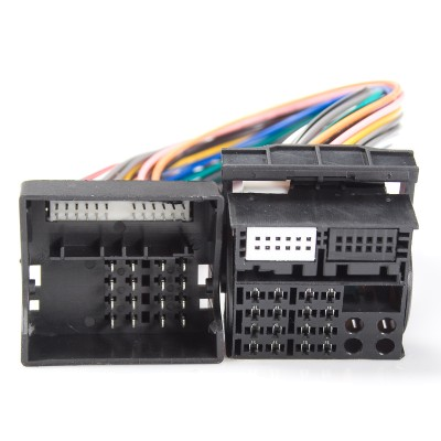 Adapter Quadlock(M) - Quadlock(F), 40 pin