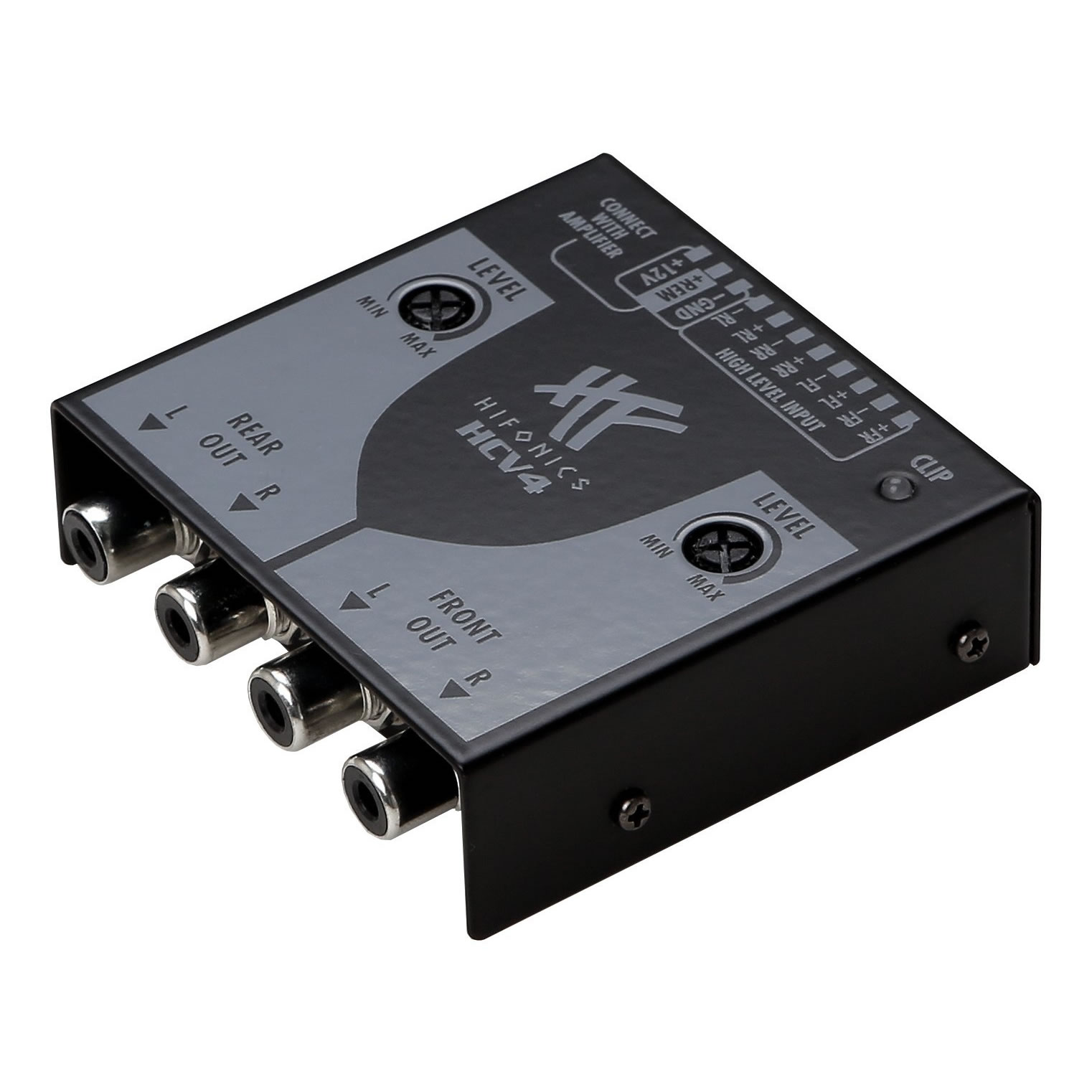 hifonics hcv4 hcv4 high low adapter autoradio. Black Bedroom Furniture Sets. Home Design Ideas