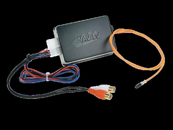 AUX Adapter für Volvo 2004-> (MOST-Lichtleitersystem)