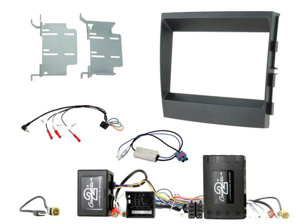 Porsche 2-DIN Kit Panamera 09-16 MOST Soundsystem, Infodapter