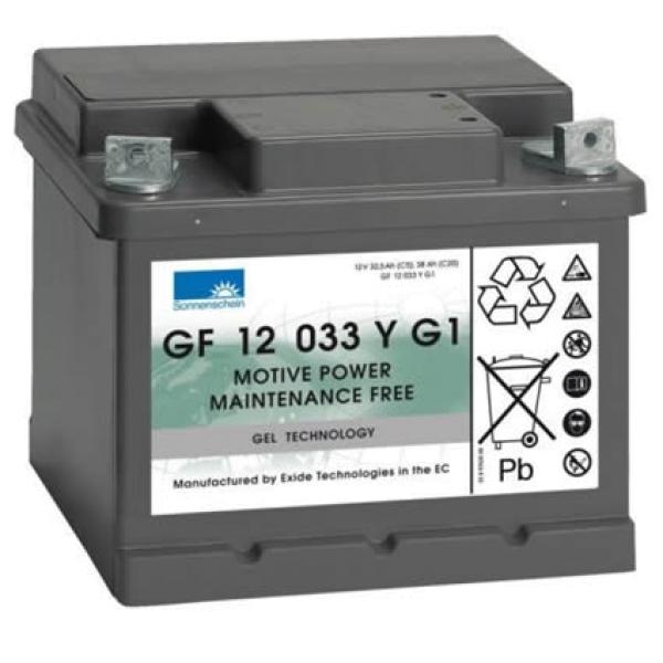 Sonnenschein dryfit A 500 Cyclic Serie / Gel Antriebsbatterie GF 12 033 YG 1