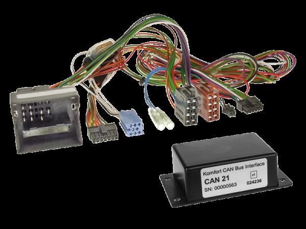 Mercedes CAN-BUS Adapter für Fahrzeuge mit Multifunktionslenkrad auf Becker + Variocom