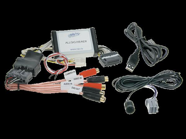 Video und Navigation während der Fahrt + AV-Eingang + Bluetooth Anbindung für Handys - Chrysler Town