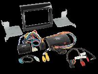 Fiat / Citroen / Peugoet 2-DIN Kit + Infodapter 2016->