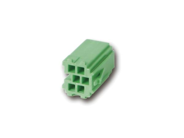 Mini ISO Steckergehäuse grün CHP