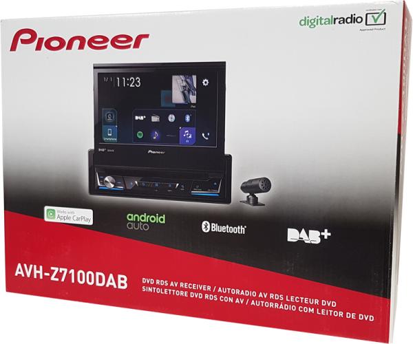 pioneer avh z7100dab inkl antenne und kamera nd bc8. Black Bedroom Furniture Sets. Home Design Ideas