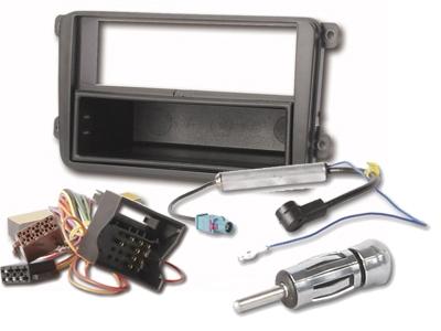 VW Golf V Touran Radioblende ISO Adapter Antennenadap