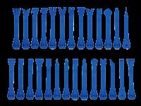 Abzieher Nylon / Rolltasche 27 Teile