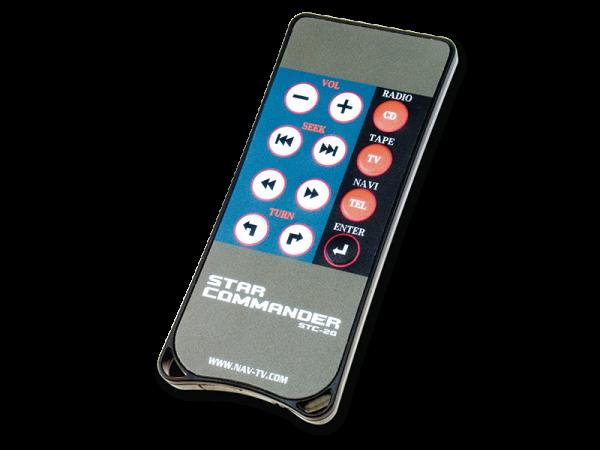 STAR COMMANDERFernbedienung für Mercedes COMAND 2.0 / 2.5 Systeme