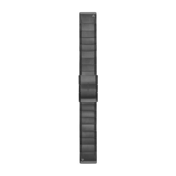 QuickFit Armband Schiefergrau Edelstahl