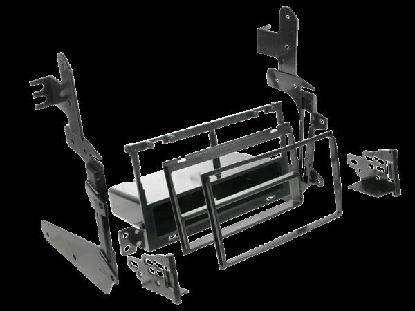 Doppel-ISO Einbaukit mit Ablagefach für Nissan Maxima