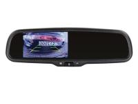 4.3 Zoll Spiegelmonitor Selbstabdimmend 2 Video Eingänge