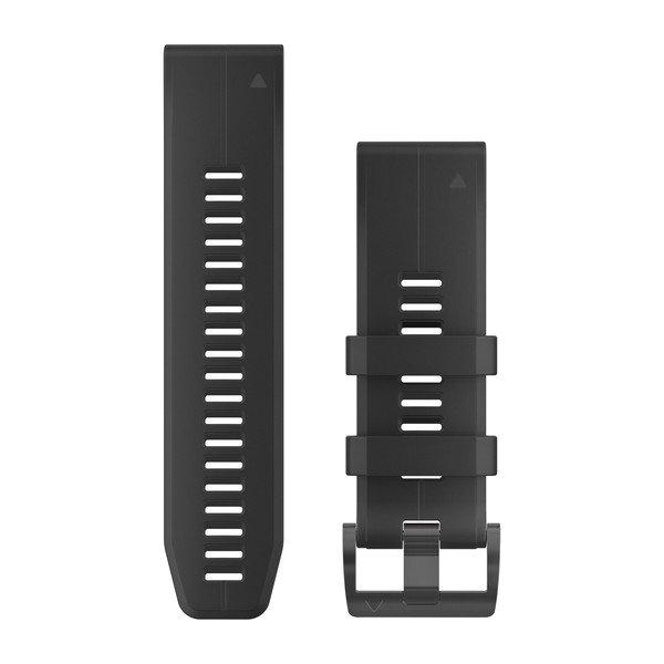 Garmin QuickFit 26 Silikonarmband schwarz