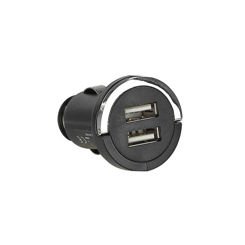 USB Ladeadapter 12V/24V 1x 2,1A / 2x 1A