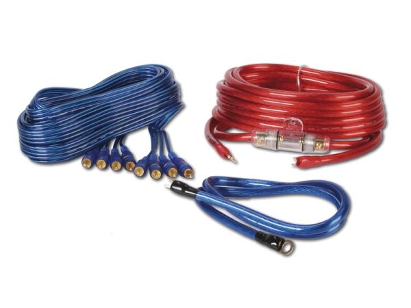 Kabelset 16qmm für 4-Kanalverstärker CHP