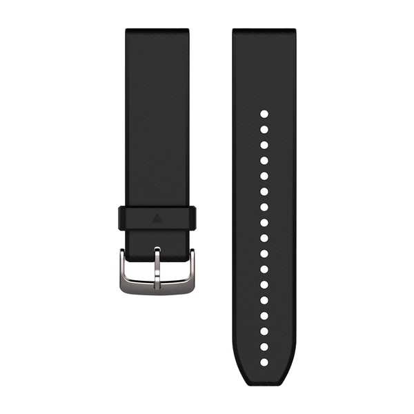 QuickFit 22 Silikon schwarz/silber