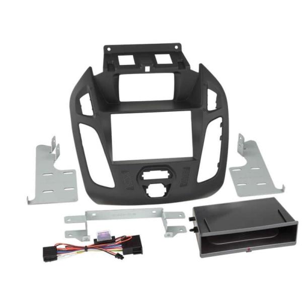 2-DIN RB Inbay Ford Transit Connect mit Display schwarz