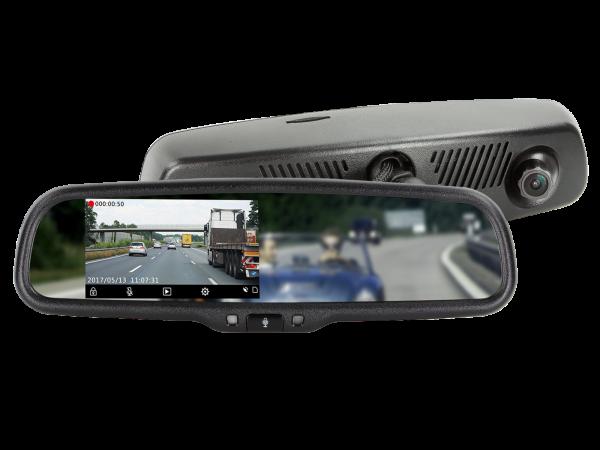 "4.3"" Spiegelmonitor inkl. Full HD Dashcam + DVR Funktion"