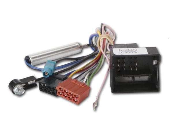 Radioanschlusskabel mit Antennenad.Cit/Peug. DIN CHP