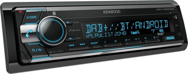 KDC-X7200DAB inkl. DAB Antenne