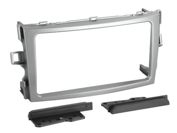 2-DIN RB Toyota Verso 2009->2011 silber