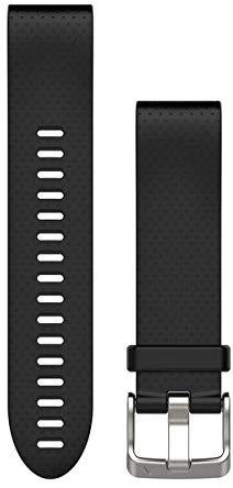 Garmin QuickFit 20 Silikonarmband schwarz