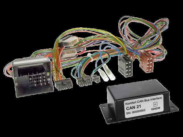 VW CAN-BUS Adapter für Fahrzeuge mit Multifunktionslenkrad auf Variocom + Radio