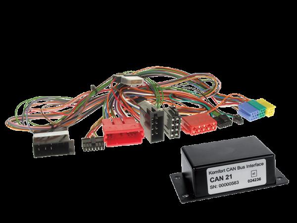 Audi CAN-BUS Adapter für Fahrzeuge mit Multifunktionslenkrad auf Variocom VC04