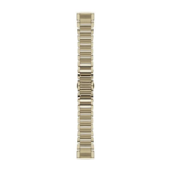 Garmin QuickFit Armband Goldfarben Edelstahl