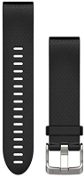 QuickFit 20 Silikonarmband schwarz