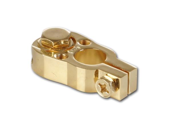 Batterieklemme - vergoldet CHP