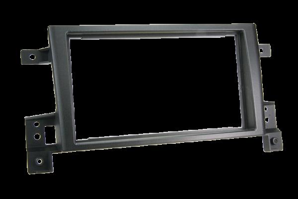 Radiohalterung Suzuki Grand Vitara Doppel DIN (schwarz)
