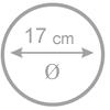 17 cm