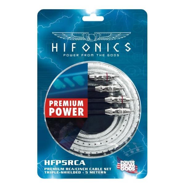 Premium Cinchkabel HFP5-RCA 5m