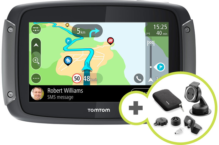 tomtom rider 550 premium inkl autohalterung rider 550. Black Bedroom Furniture Sets. Home Design Ideas