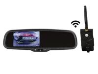 4.3 Zoll Spiegelmonitor inkl. 2.4GHz Digital Video Transmitter